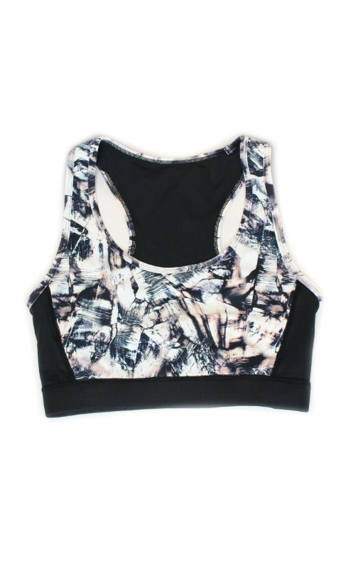 Cutout Sports Bra - Madison and Mallory
