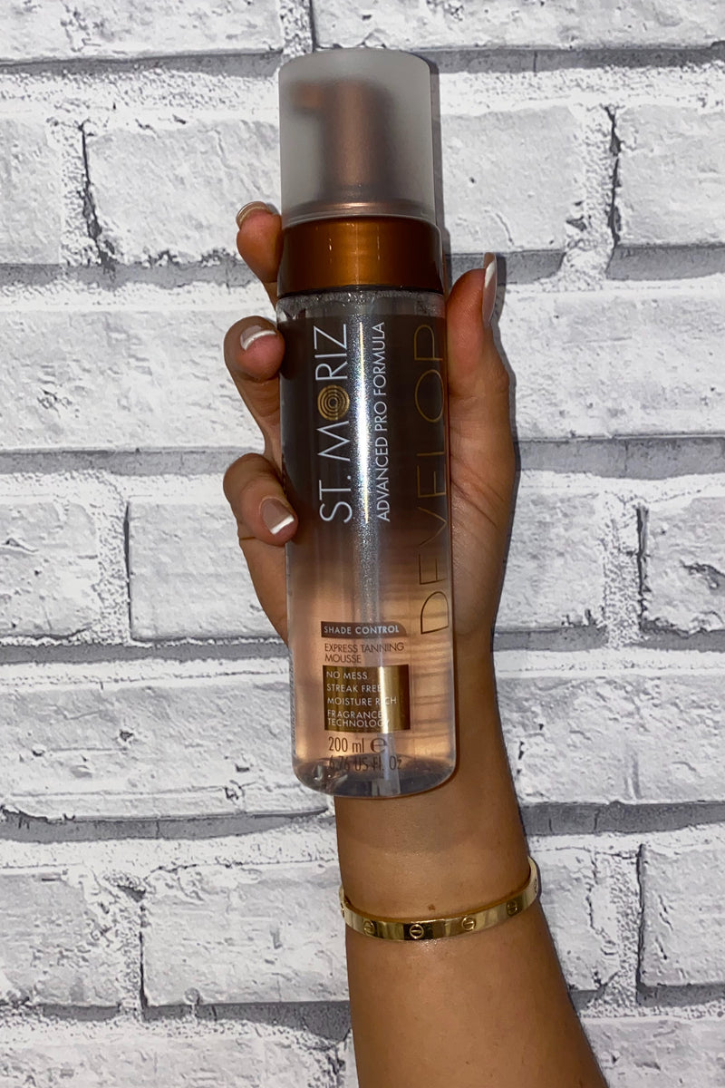 St. Moriz Advanced Pro Clear Tanning Mousse - Madison and Mallory