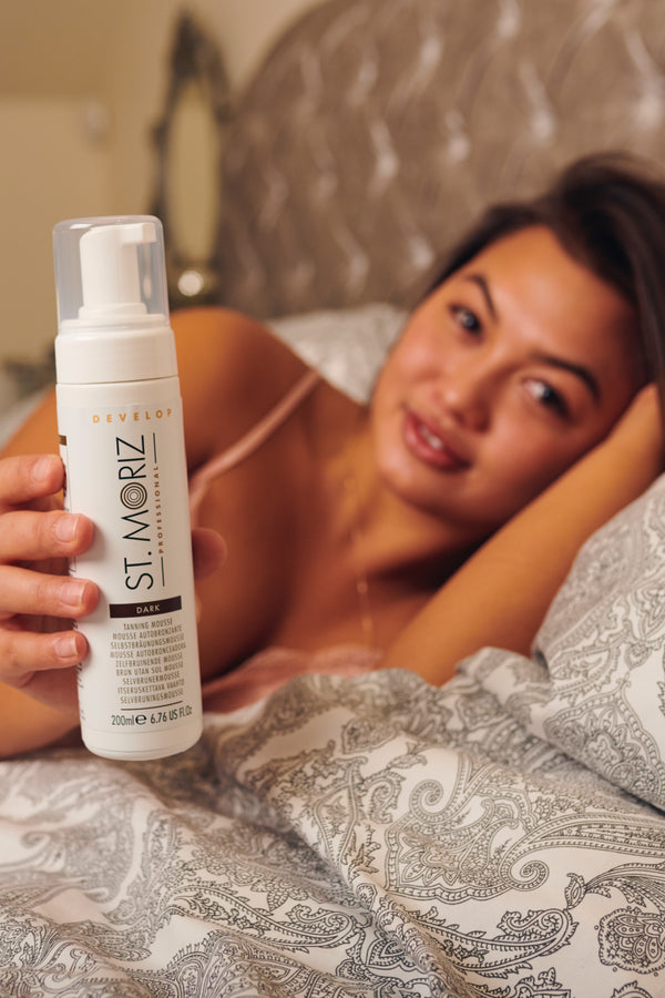 St. Moriz Professional Self-Tanning Mousse - Dark - Madison and Mallory