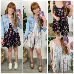 Tarrie Flowy Floral Romper - Madison and Mallory