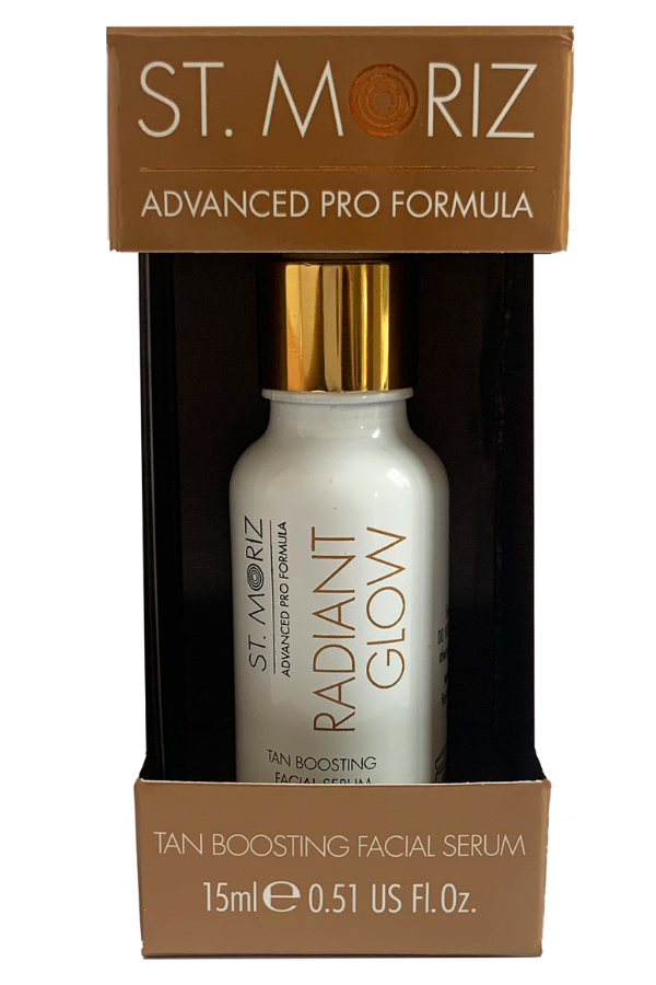 St. Moriz Advanced Pro Radiant Glow Tan Boosting Facial Serum - Tanning Drops - Madison and Mallory
