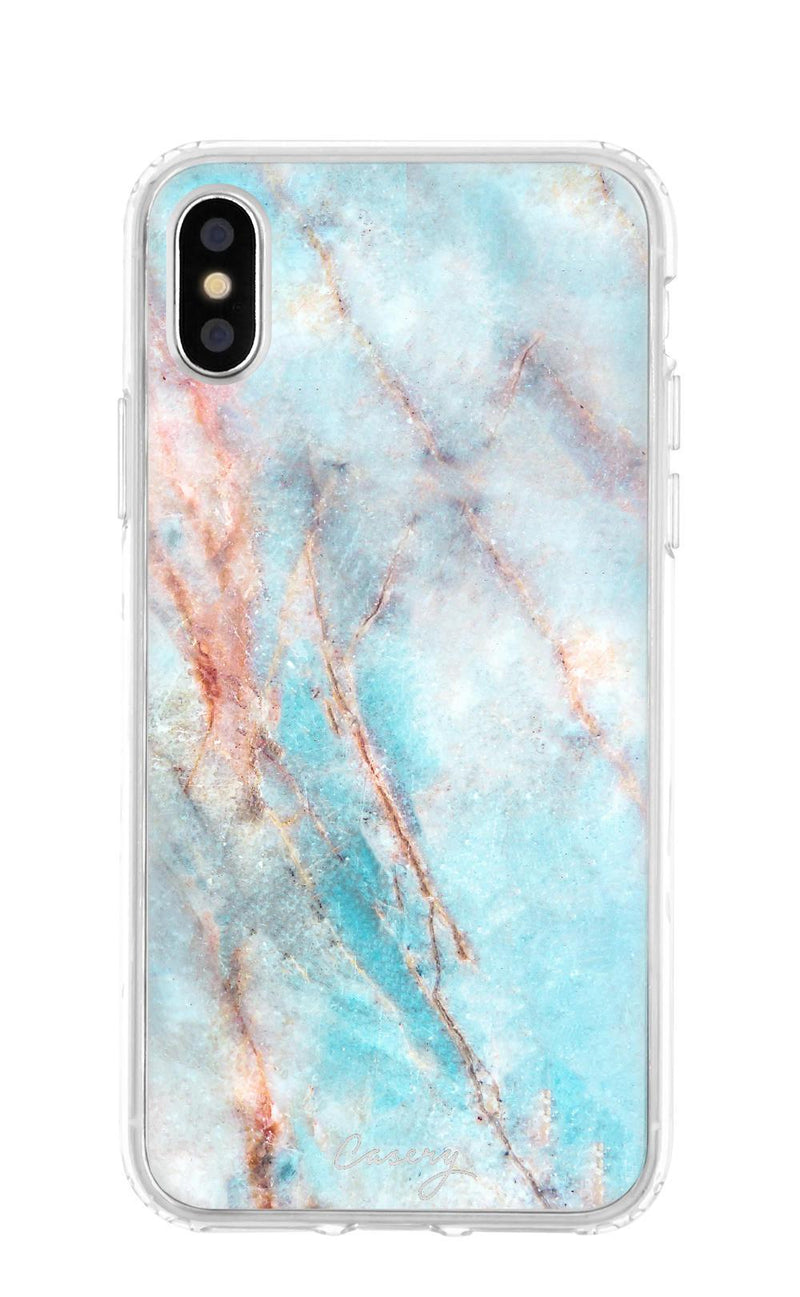 X Frosty Marble iPhone Case - Madison + Mallory