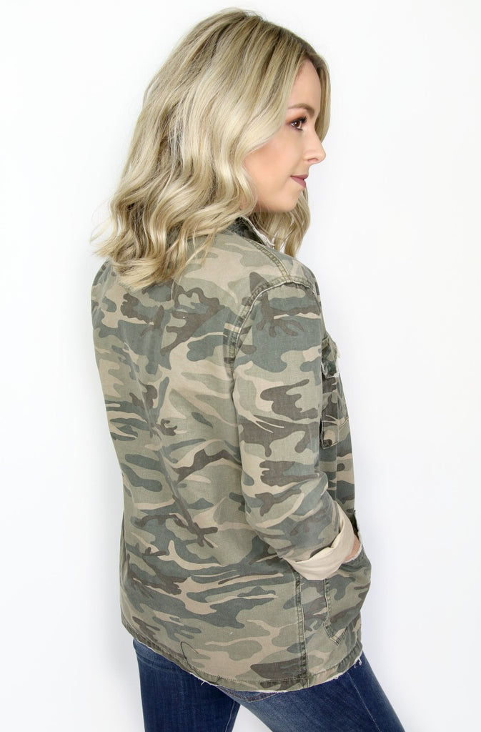 Camo Jacket - Madison + Mallory