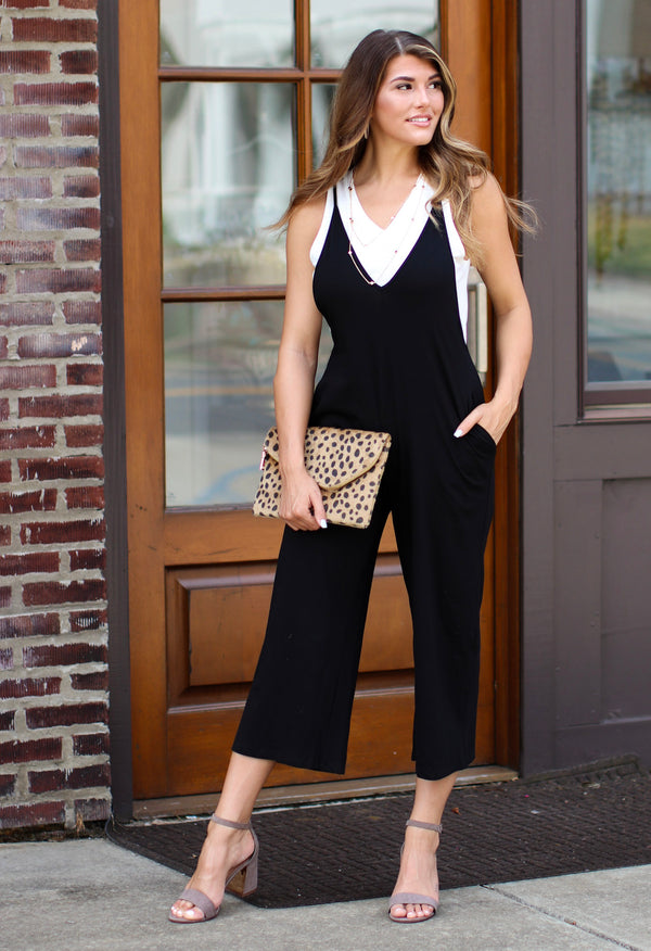 No Worries Knit Jumpsuit - Madison + Mallory