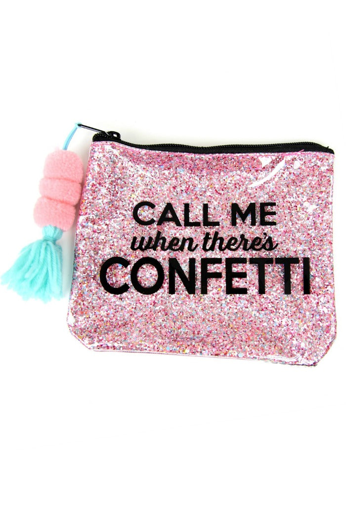OS Call Me When There's Confetti Bag - Madison + Mallory