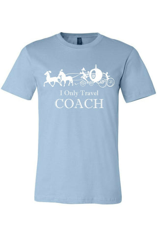 XS / Light Blue I Only Travel Coach - Madison + Mallory
