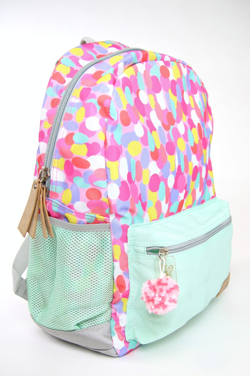Multi Confetti Backpack - FINAL SALE - Madison + Mallory