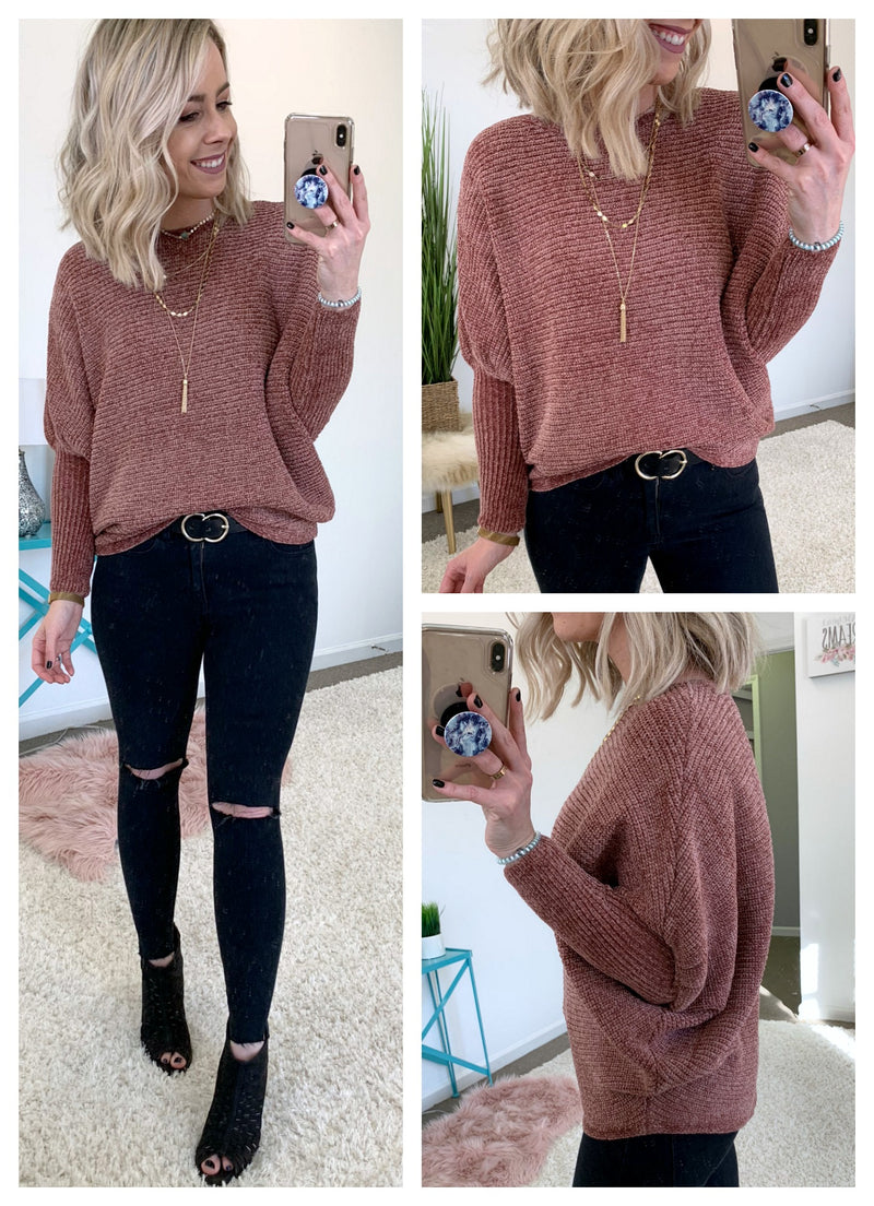 Margaret Draped Sweater - Madison + Mallory