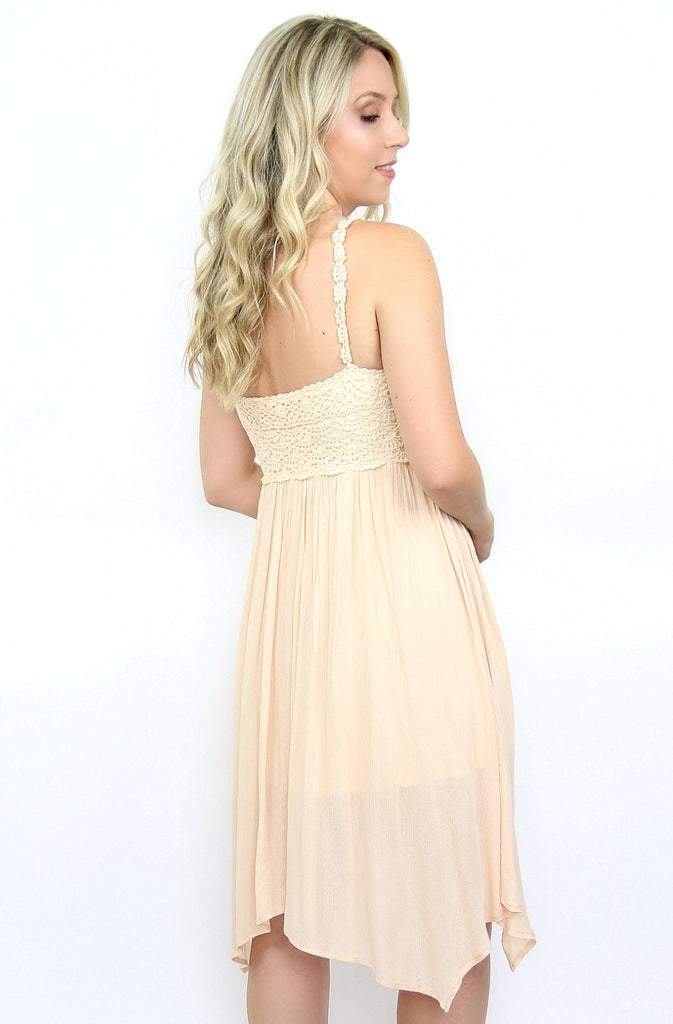 Crochet Handkerchief Hem Dress