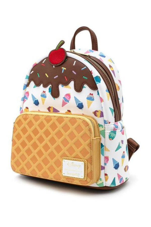 Multi Loungefly x Disney Princess Ice Cream Mini Backpack - Madison and Mallory