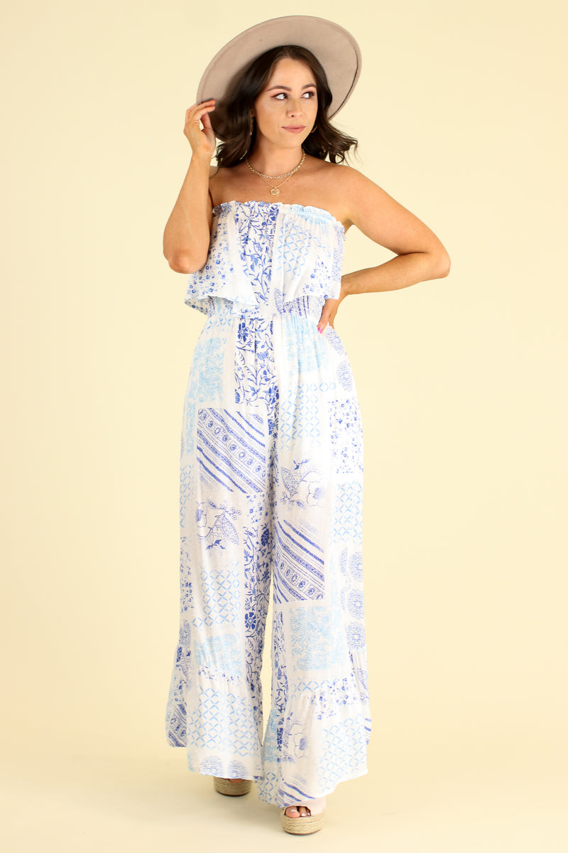 Absolute Allure Flounce Ruffle Jumpsuit - FINAL SALE - Madison and Mallory