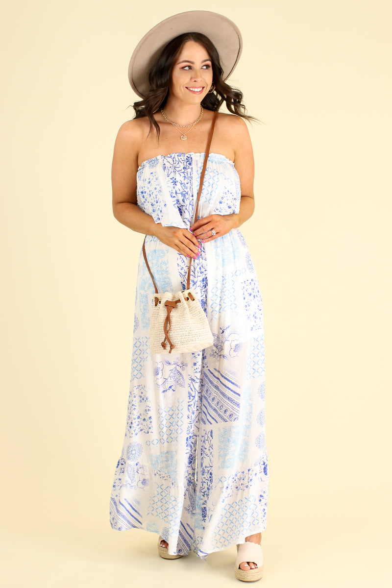 Absolute Allure Flounce Ruffle Jumpsuit - Madison and Mallory