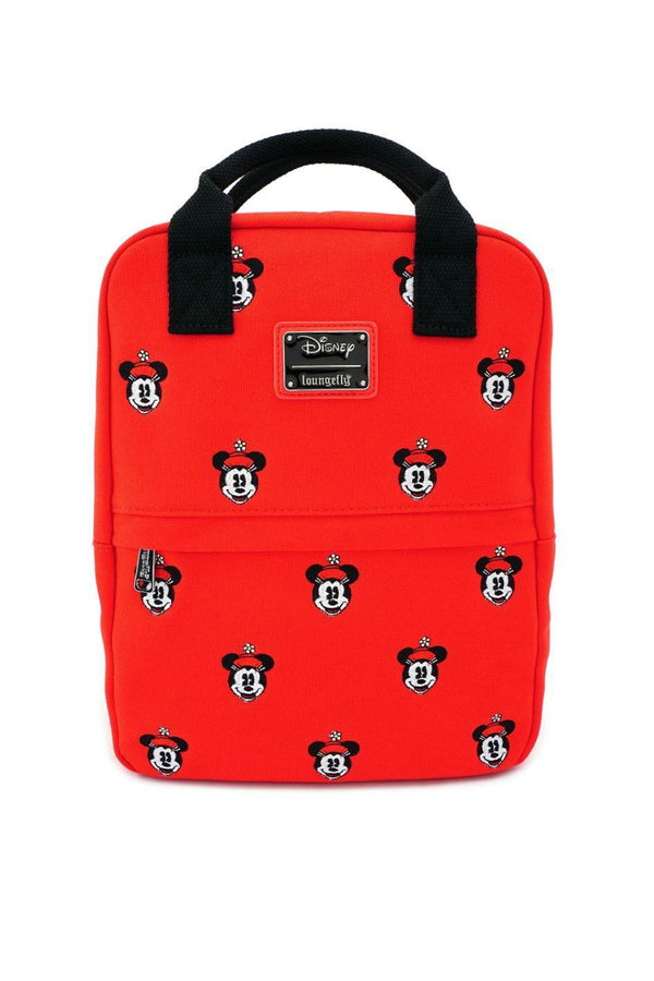 Red Loungefly x Disney Positively Minnie Embroidered Backpack - Madison and Mallory