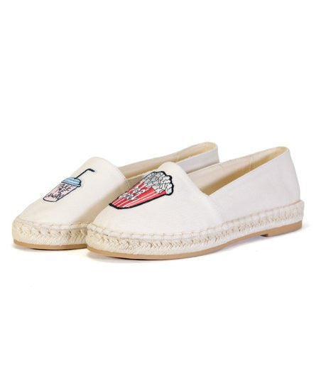 Patched Espadrilles - FINAL SALE - Madison + Mallory