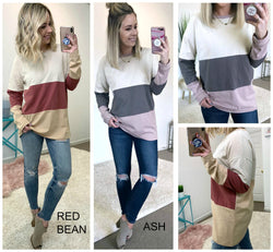 Reese Color Block Top - Madison + Mallory
