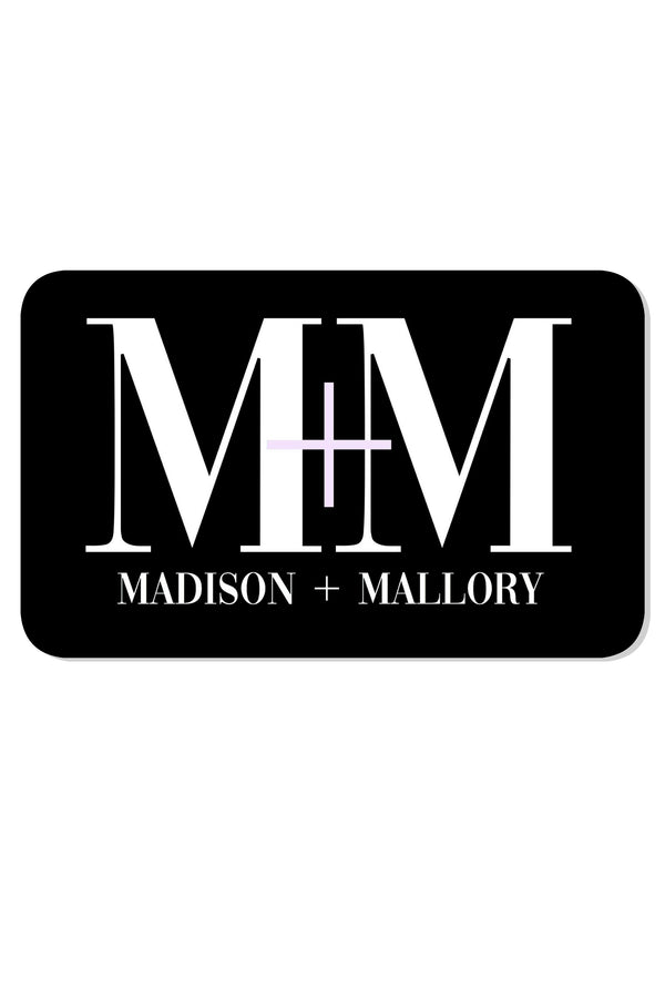 Gift Card - Madison + Mallory