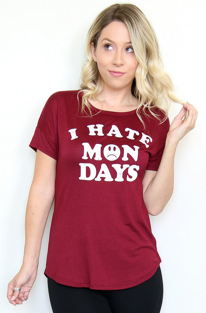 I Hate Mondays Top