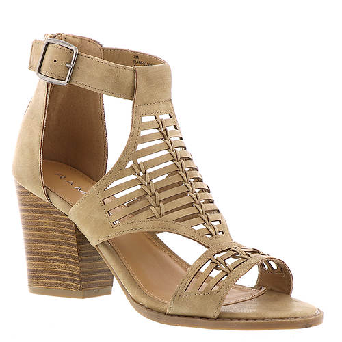 6 / Natural Elvie Heels + MORE COLORS - Madison + Mallory