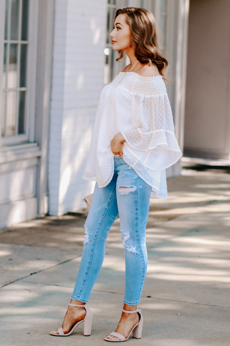 Kimora Off Shoulder Top - Madison and Mallory