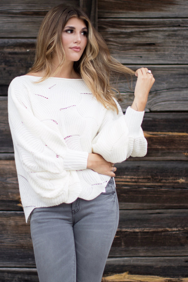 Jana Dolman Sweater - Madison + Mallory