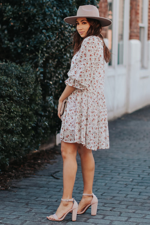 Songbird Ditsy Floral Dress - Madison + Mallory