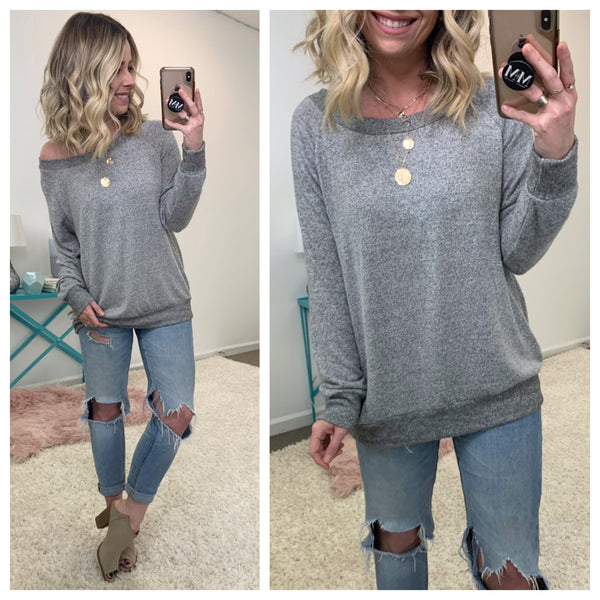 Tell It How It Is Tunic Top - Madison + Mallory