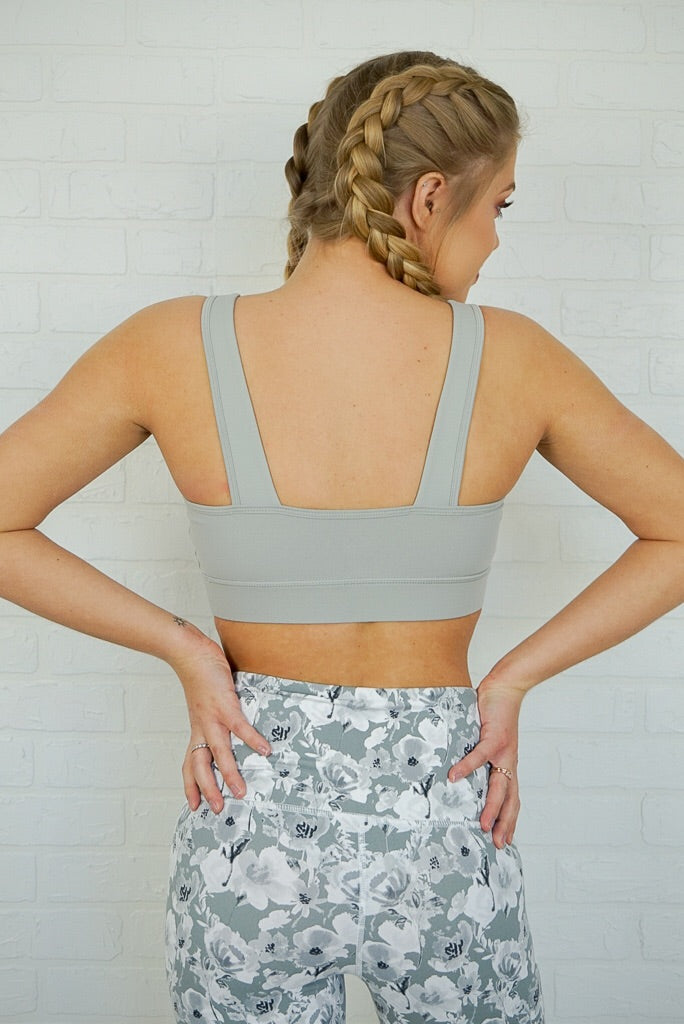 Twist Front Cutout Sports Bra + MORE COLORS - FINAL SALE - Madison + Mallory