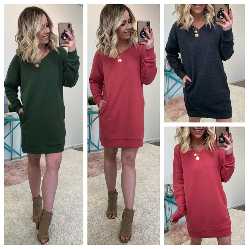 Denton Tunic Sweatshirt - Madison + Mallory