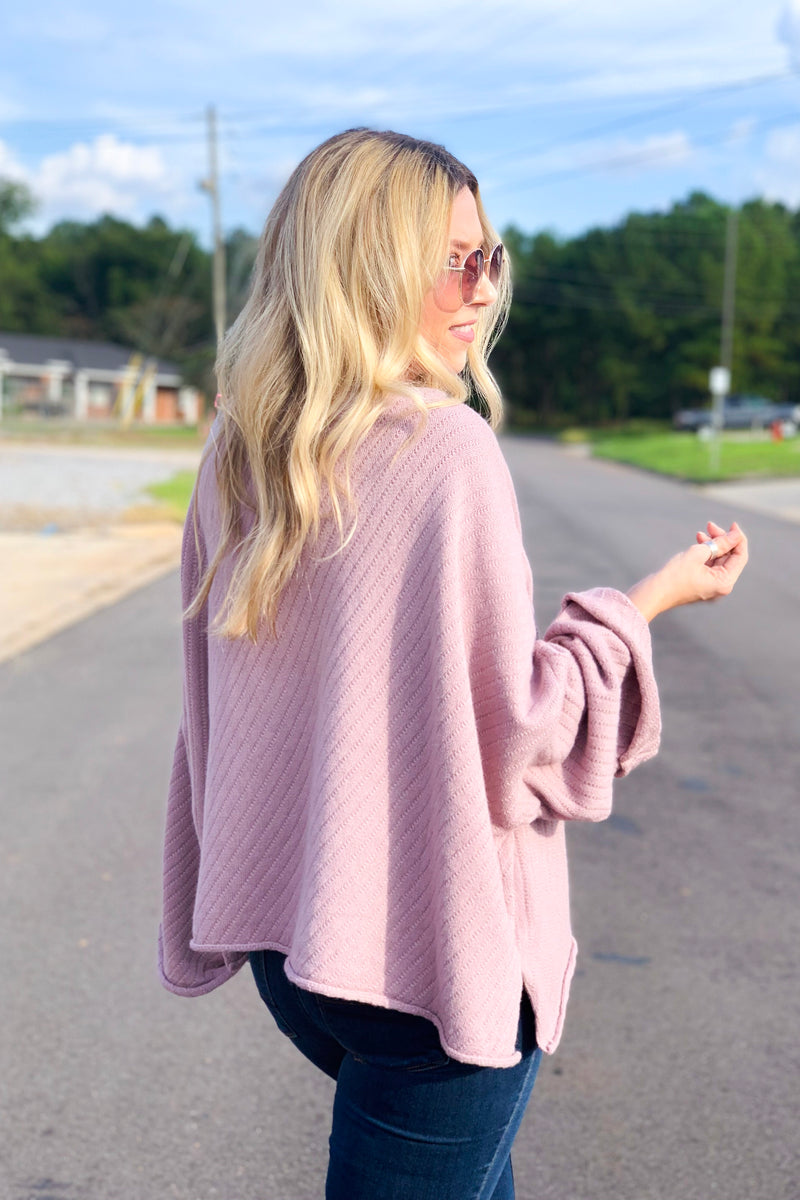 Ella Bell Sleeve Sweater - Madison + Mallory