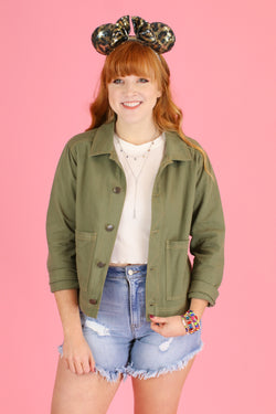 Nuala Utility Jacket - FINAL SALE - Madison and Mallory