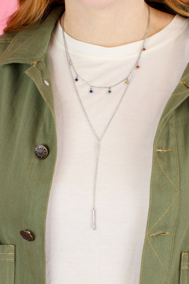 Silver Making Statements Layered Necklace - Madison and Mallory