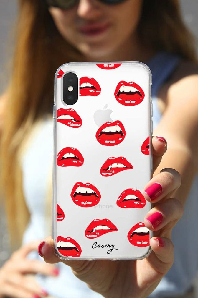 Lips iPhone Case - Madison + Mallory