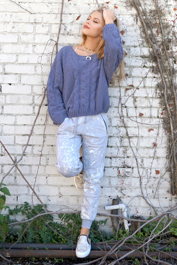 Mineral Washed Joggers - Madison + Mallory