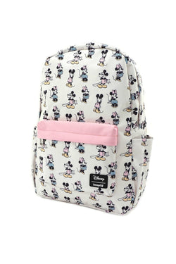 Pastel Loungefly Disney Minnie Mickey Mouse Pastel Backpack - Madison and Mallory