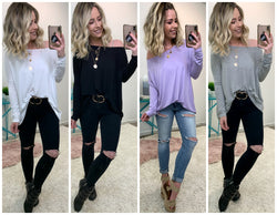 Out Do the Others Piko Top - Madison + Mallory