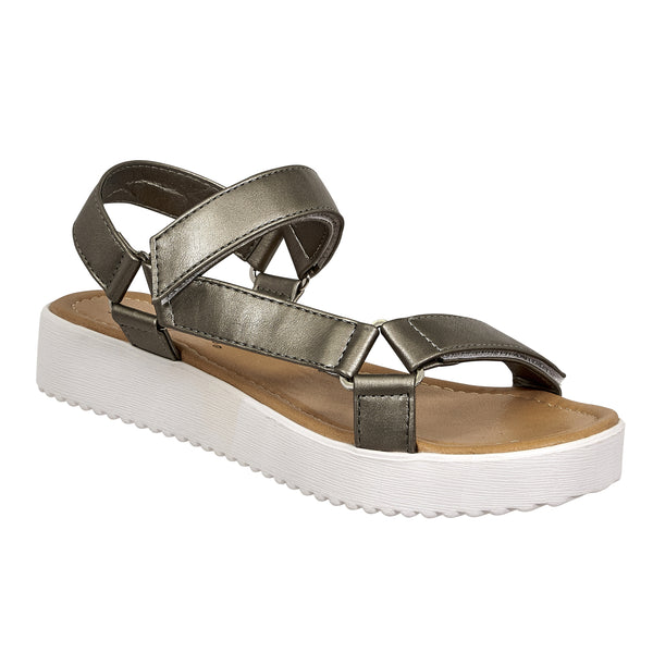 Luna Strappy Sandals - Madison + Mallory