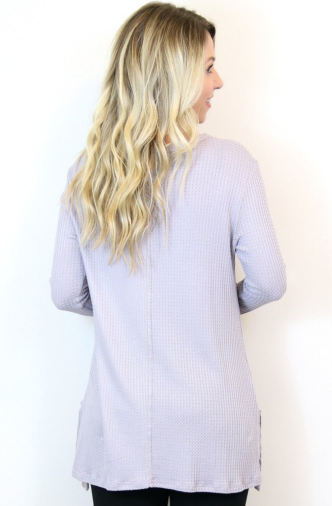 Flowy Thermal Tunic Top