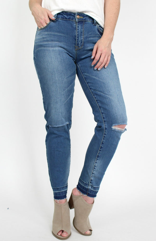 26 / Medium Wash Danielle Skinny Jeans - FINAL SALE - Madison + Mallory