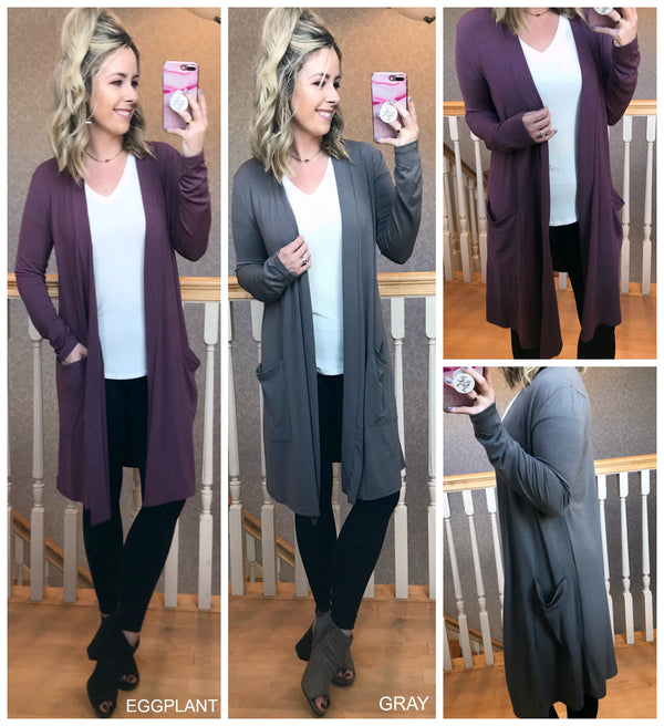 Lucia Soft Cardigan - Madison + Mallory
