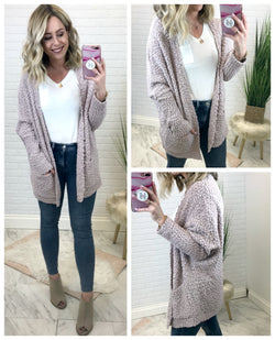 Warm Fuzzy Feelings Cardigan - Madison + Mallory