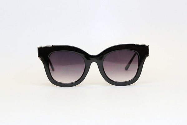 Black/Silver Audrey Sunglasses + MORE COLORS - Madison + Mallory