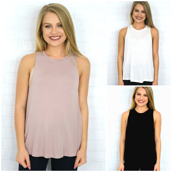 Sleeveless Knit Top - Madison + Mallory