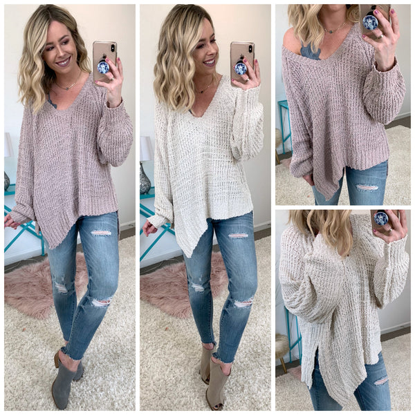 Take You Anywhere Sweater - Madison + Mallory