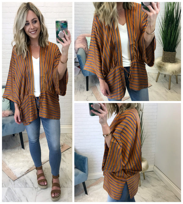 Sunset Kimono Wrap - FINAL SALE - Madison + Mallory