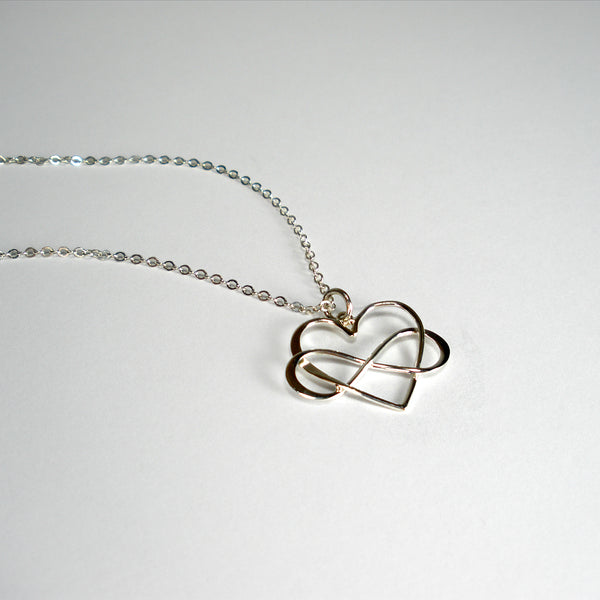 Daughter Gift from Mom on Wedding Day Birthday Silver Necklace