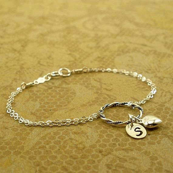 long distance friend gifts personalized friendship bracelet sterling silver