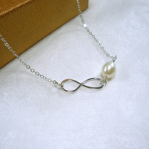 Sister Gift Ideas Infinity Necklace Best Sister Gift Sterling Silver
