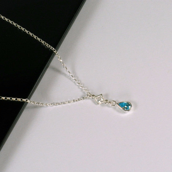 birthstone necklace birthday gifts for women gemstone jewelry