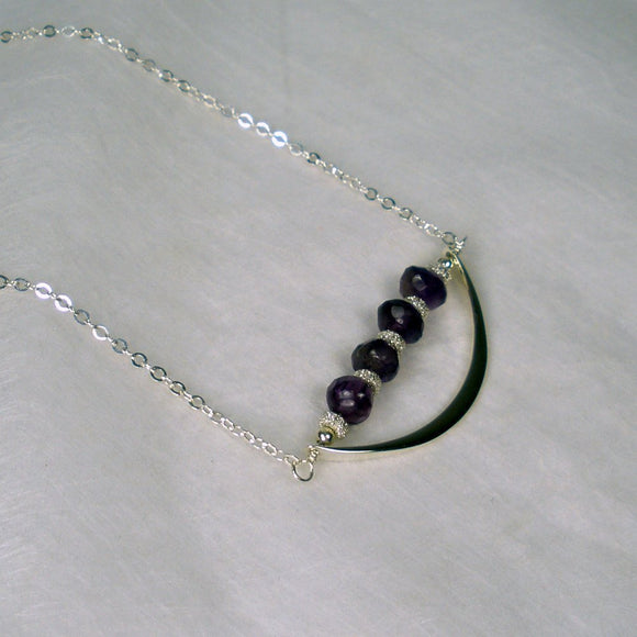 women necklaces amethyst birthstone jewelry