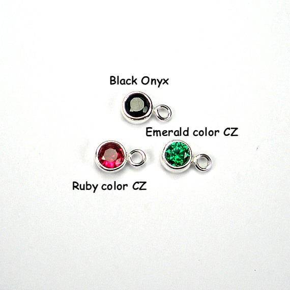 Starring You Jewelry Black onyx Emerald Ruby